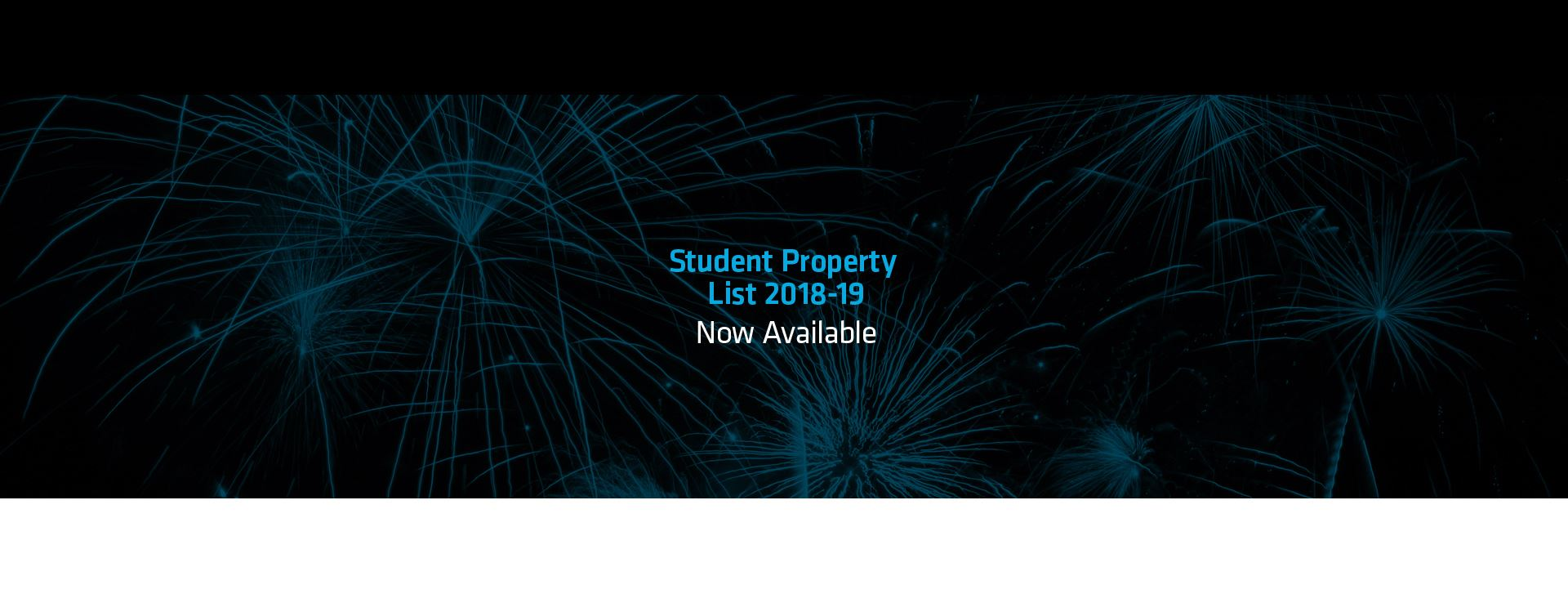Student Property List 2018/19