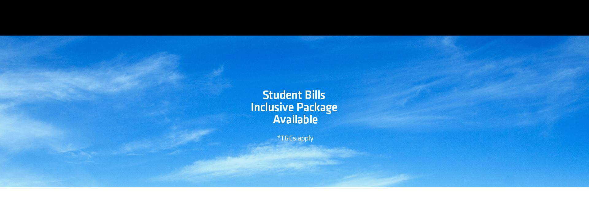 Student Bills Included