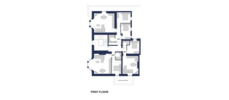 Shibdon House First Floor Plan