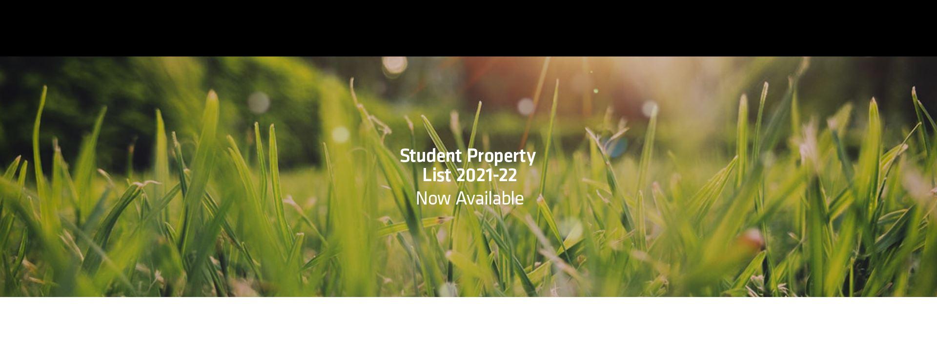 Student Properties 21-22