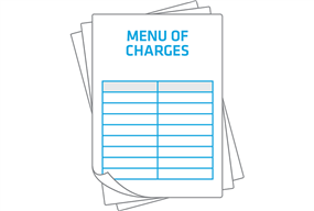 Menu of Charges